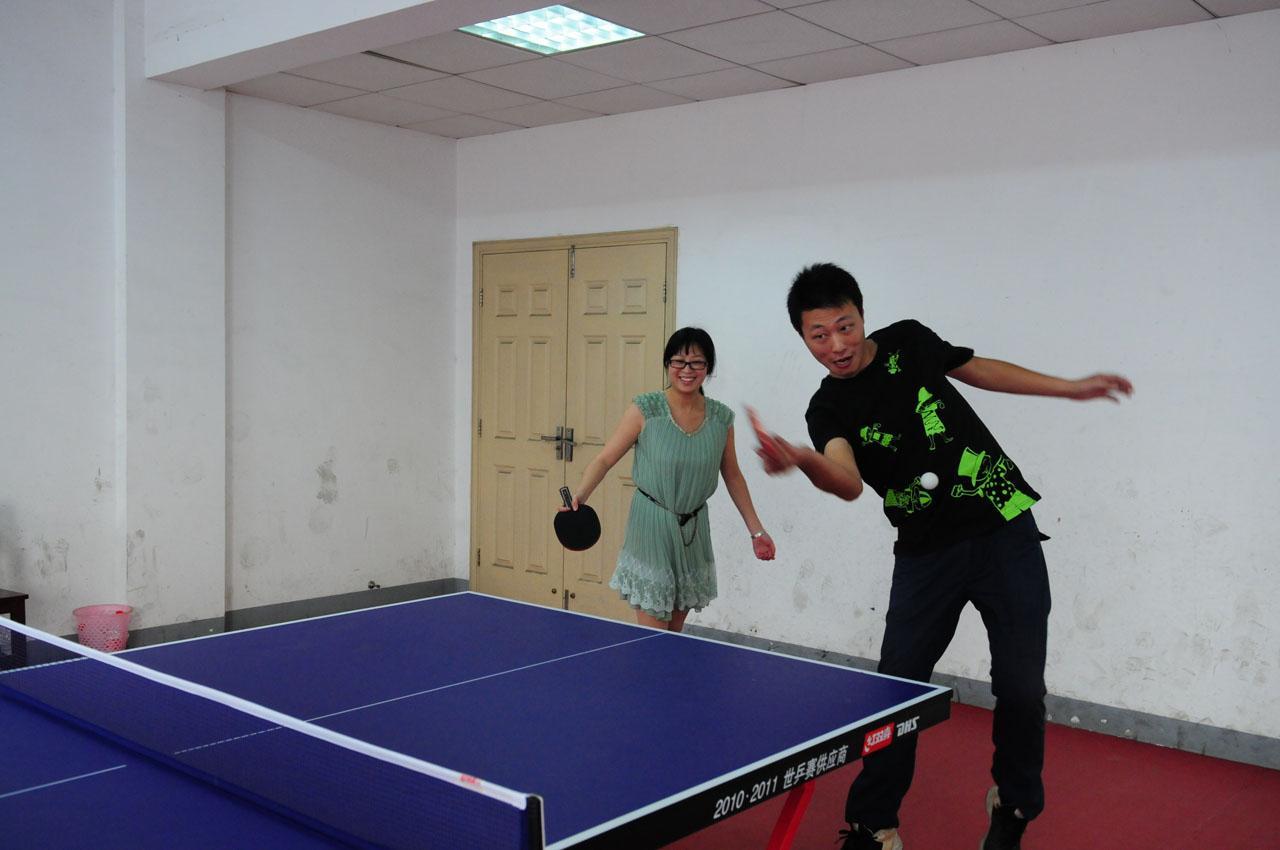 2012年教工乒乓球比赛